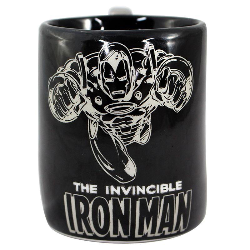 Caneca-de-Porcelana---Soco-Ingles---Disney---Marvel---Vingadores---Zona-Criativa