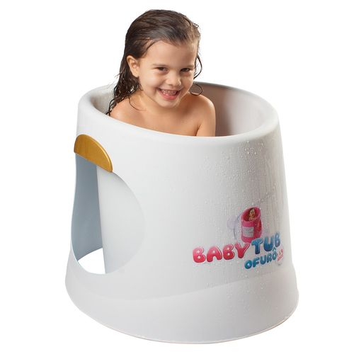 Banheira Babytub Ofurô - De 1 a 6 Anos - Branco - Baby Tub