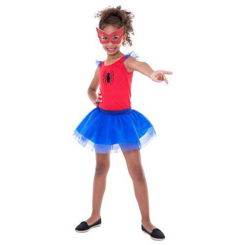 Fantasia Infantil - Pop - Disney - Marvel - Spider-Man - Spider Girl - Regina Festas