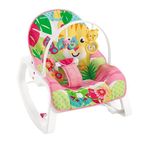 Cadeirinha de Descanso - Infant-to-Toddler Rocker - Tigre - Rosa - Fisher-Price (((100163111))) <<<pt-BR>>>