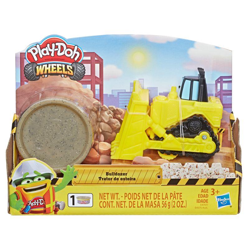 Conjunto-Massa-de-Modelar---Play-Doh---Bulldozer---Hasbro
