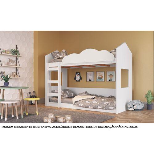 Beliche - Montessoriano - Casinha - Branco - Completa Móveis