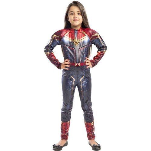 Fantasia Infantil - Disney - Marvel - Capitã Marvel - Regina Festas
