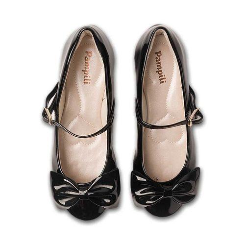 Sapato para Bebês - Angel - Verniz - Preto - Pampili