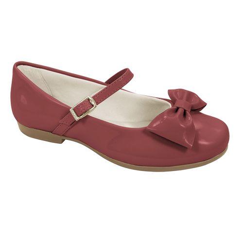Sapato para Bebês - Angel - Verniz - Vermelho - Pampili
