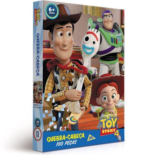 Quebra Cabeça - Toy Story 4 - Disney - 100 Peças - Toyster