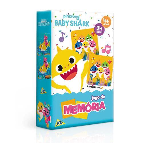 Jogo da Memória - 24 Pares - Baby Shark - Toyster