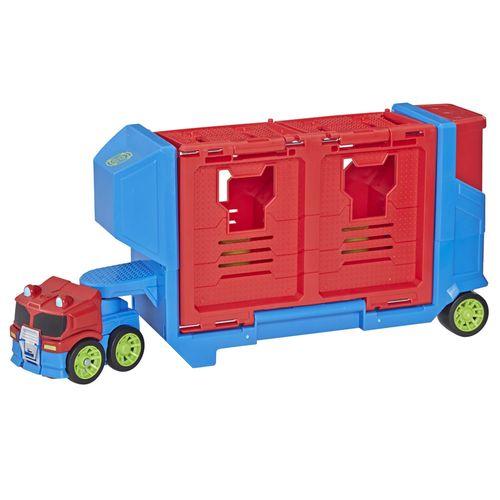 Veículo e Mini Figura - Playskool Heroes - Transformers Rescue Bots Academy - Hasbro