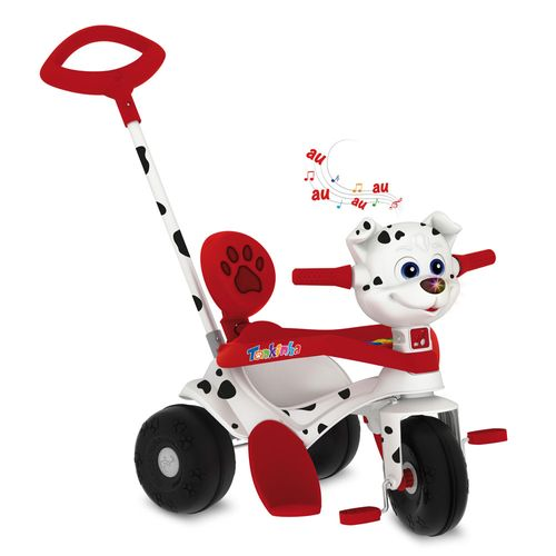 Triciclo de Passeio e Pedal - Tonkinha - Doggy - Bandeirante