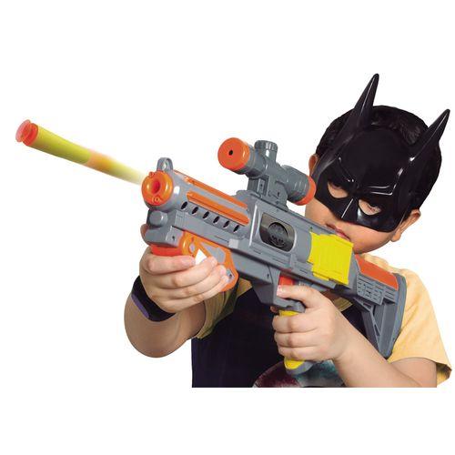Lançador de Dardos - DC Comics - Batman - Mega Lançador e Máscara - Novabrink