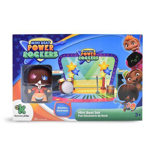 Playset 3D - Mini Beat Power Rockers - Fuz - Multikids