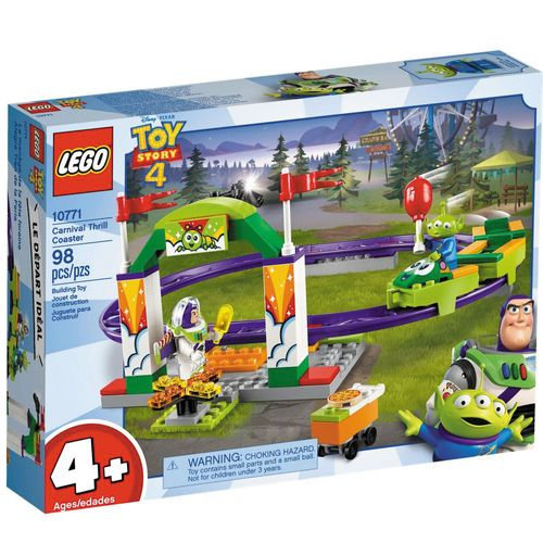 LEGO Juniors - Disney - Toy Story 4 - Montanha Russa Emocionante - 10771