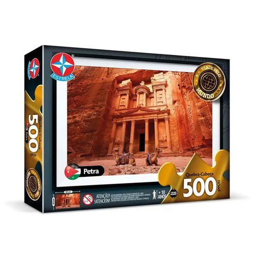 Quebra-Cabeça - 500 Peças - Petra - Estrela