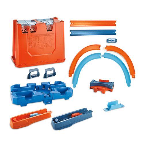 Pista de Percurso - Caixa de Manobras - Track Builder - Deluxe Stunt Box - Hot Wheels - Mattel