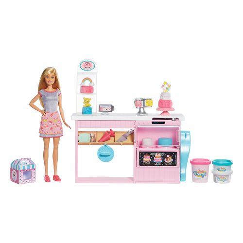 Playset e Boneca Barbie - Barbie Chef de Bolinhos - Mattel