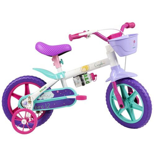 Bicicleta Aro 12 - Cecizinha - Branco - Caloi