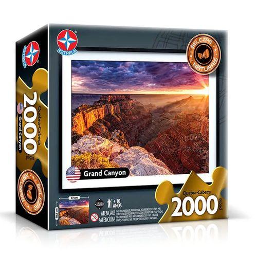 Quebra-Cabeça - 2000 Peças - Grand Canyon - Estrela