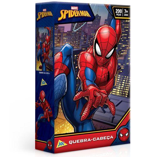 Quebra-Cabeça - 200 Peças - Disney - Marvel - Spider-Man - Toyster