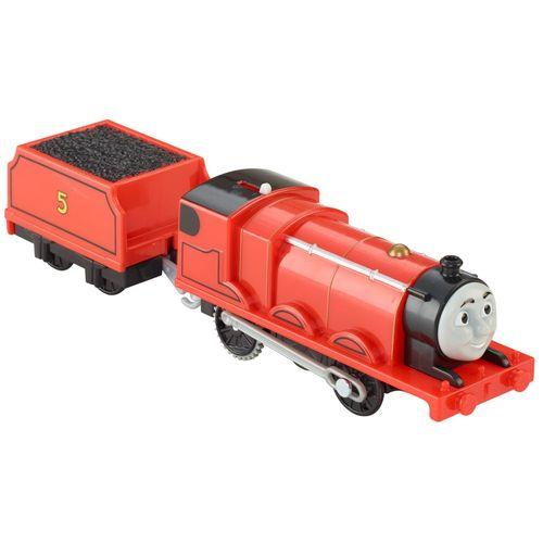 Locomotiva Thomas e Seus Amigos - Trens Motorizados - James - Fisher-Price
