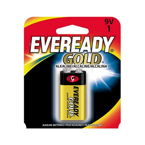Bateria Alcalina - 9V - 6LR61 - Cartela Unitária - Eveready Gold