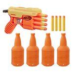 lancador-de-dardos-nerf-com-alvo-alpha-fang-qs-4-alpha-strike-hasbroE8309_frente
