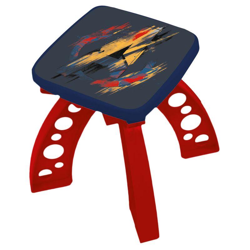 Bateria-Infantil---Disney---Marvel---Avengers---Guerra-Civil---Azul---Toyng
