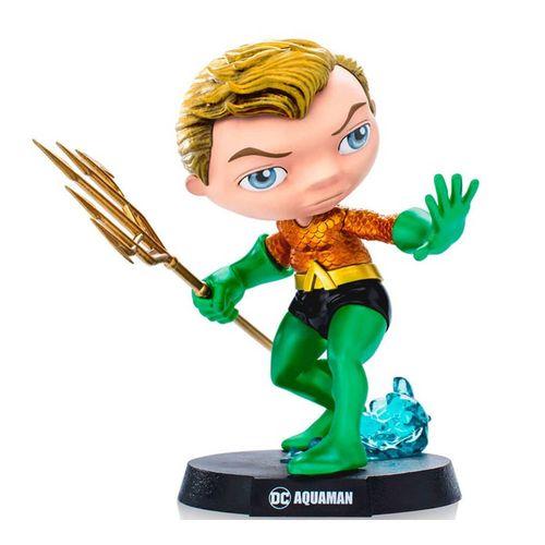 Mini Figura Colecionável - 13 Cm - DC Comics - Heroes - Aquaman - MiniCo