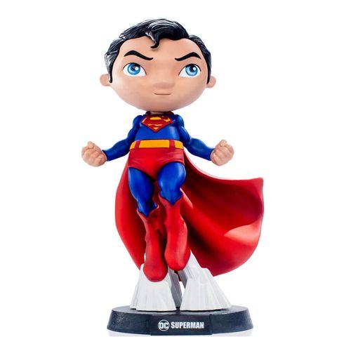 Mini Figura Colecionável - 13 Cm - DC Comics - Heroes - Superman - MiniCo