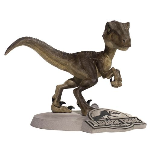Mini Figura Colecionável - 13 Cm - Jurassic Park - Velociraptor - MiniCo