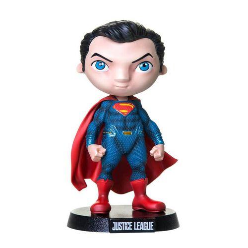 Mini Figura Colecionável - 13 Cm - DC Comics - Liga da Justiça - Superman - MiniCo