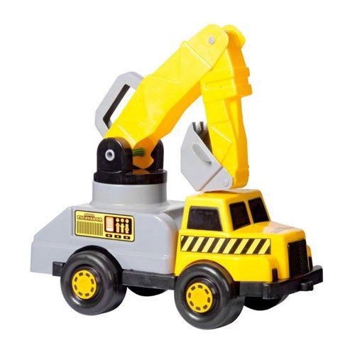 Veículo Roda Livre - Caminhão Super Escavador - Maptoy