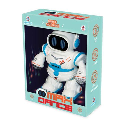Figura Interativa - Robô Max - Dance - Polibrinq