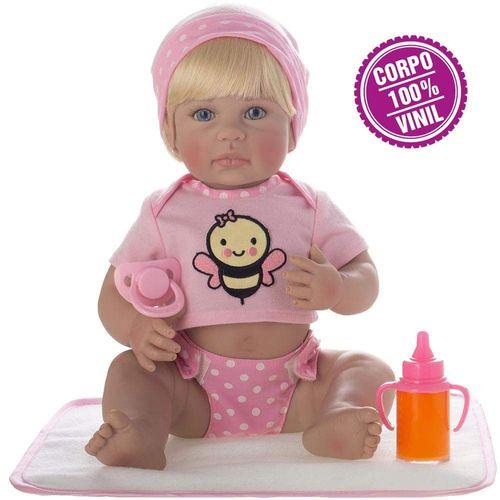 Boneca Laura Doll - Newborn - Camila - Shiny Toys