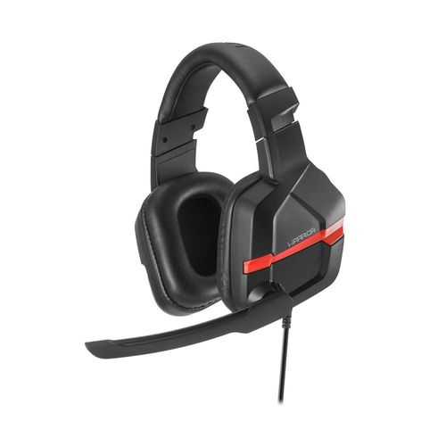 Fone de Ouvido - Headset PC Gamer - Warrior Askari - Vermelho - Multikids