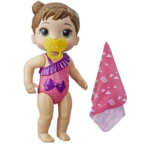 Boneca Baby Alive - Hora do Banho - Banhos Carinhosos - Morena - E8721 - Hasbro