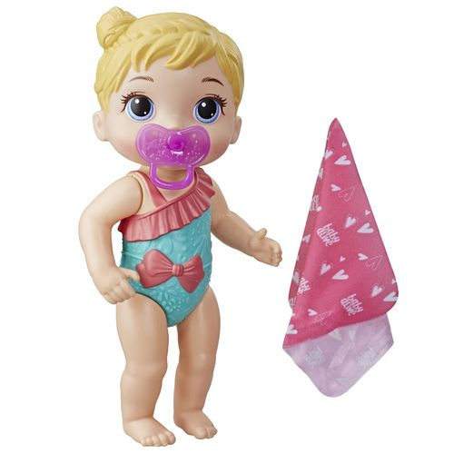 Boneca Baby Alive - Hora do Banho - Banhos Carinhosos - Loira - E8722 - Hasbro