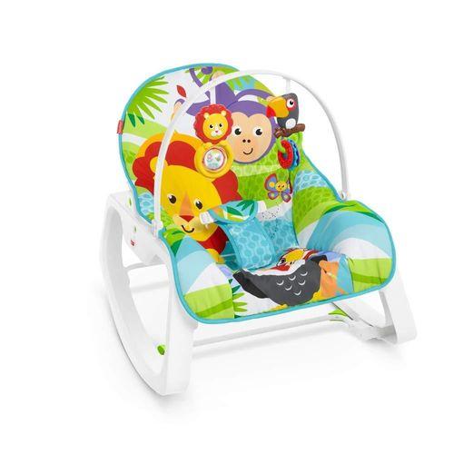 Cadeirinha de Descanso - Infant-to-Toddler Rocker - Macaquinho e Leão - Fisher-Price (((100163110))) <<<pt-BR>>>