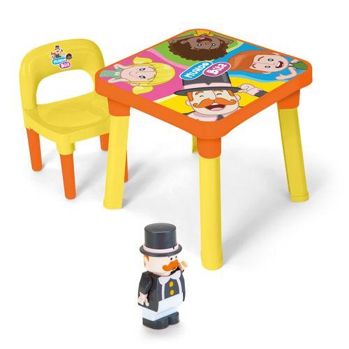 Conjunto de Mesa Infantil com Cadeira - Mundo Bita - Monte Líbano