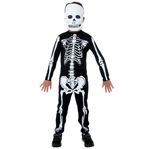 Fantasia de Halloween - Esqueleto - Sulamericana