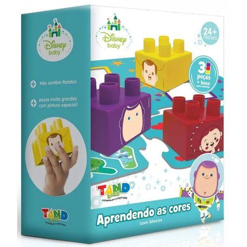 Blocos de Montar - Tand Kids - Aprendendo as Cores - Toyster