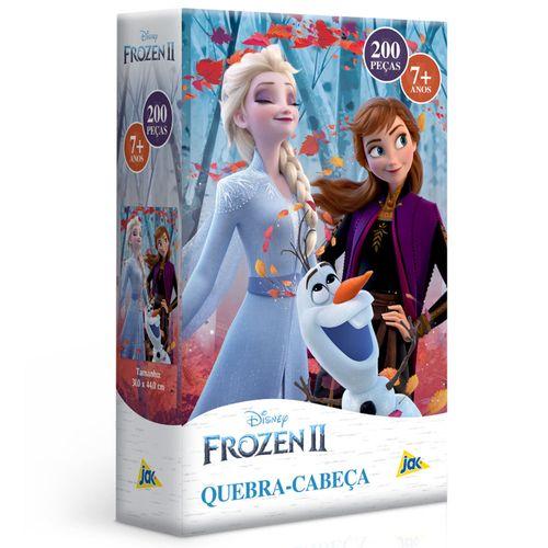 Quebra-Cabeça - 200 Peças - Disney - Frozen 2 - Elsa e Anna - Toyster