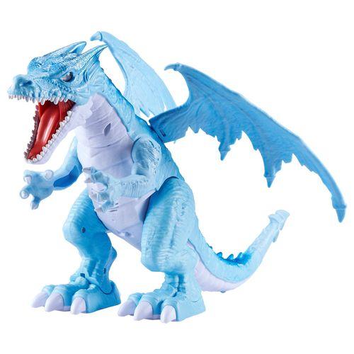Figura Eletrônica - Robo Alive - Dragão de Gelo - Candide