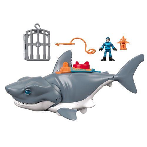 Tubarão Mega Mordida - 28Cm - Imaginext - Fisher-Price