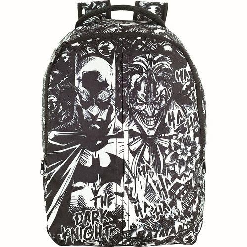 Mochila Infantil - 35x27 Cm - Nº 4 - DC Comics - Batman - Xeryus