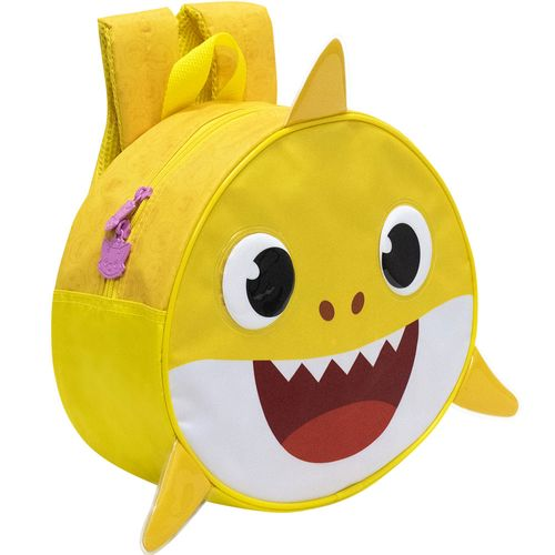 Mochila Infantil - 28x24,5 Cm - Nº12 - Baby Shark - Redonda - Xeryus