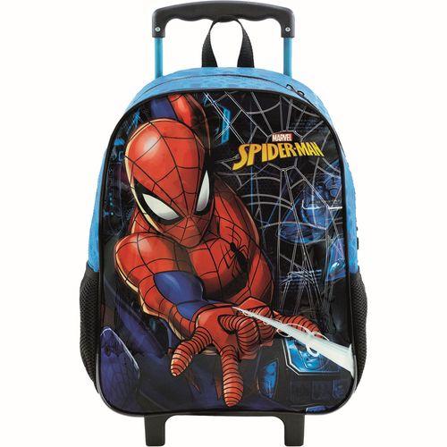 Mala com Rodinhas - Nº 16 - 30x40 Cm - Disney - Marvel - Spider-Man - Xeryus