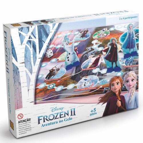 Jogo de Tabuleiro - Aventura no Gelo - Disney - Frozen 2 - Grow