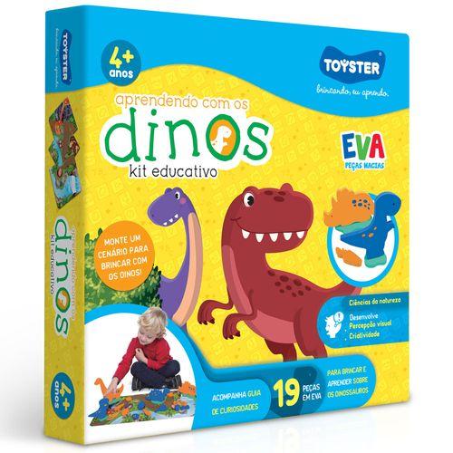 Conjunto Educativo - Aprendendo com os Dinossauros - Toyster