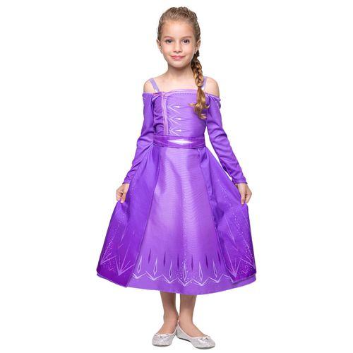 Fantasia Infantil - Disney - Frozen II - Elsa - Clássica - Regina Festas