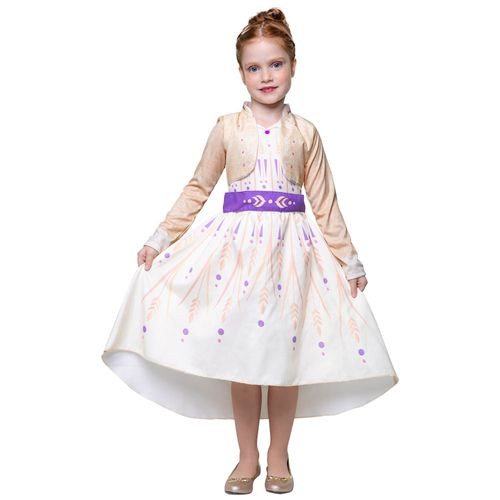 Fantasia Infantil - Disney - Frozen II - Anna - Clássica - Regina Festas
